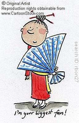 Kimono cartoons